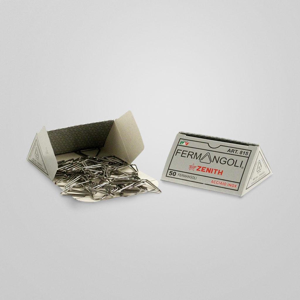 Zenith Büroklammern aus Edelstahl – der patentierter Designklassiker aus Italien. Details & Bestellung