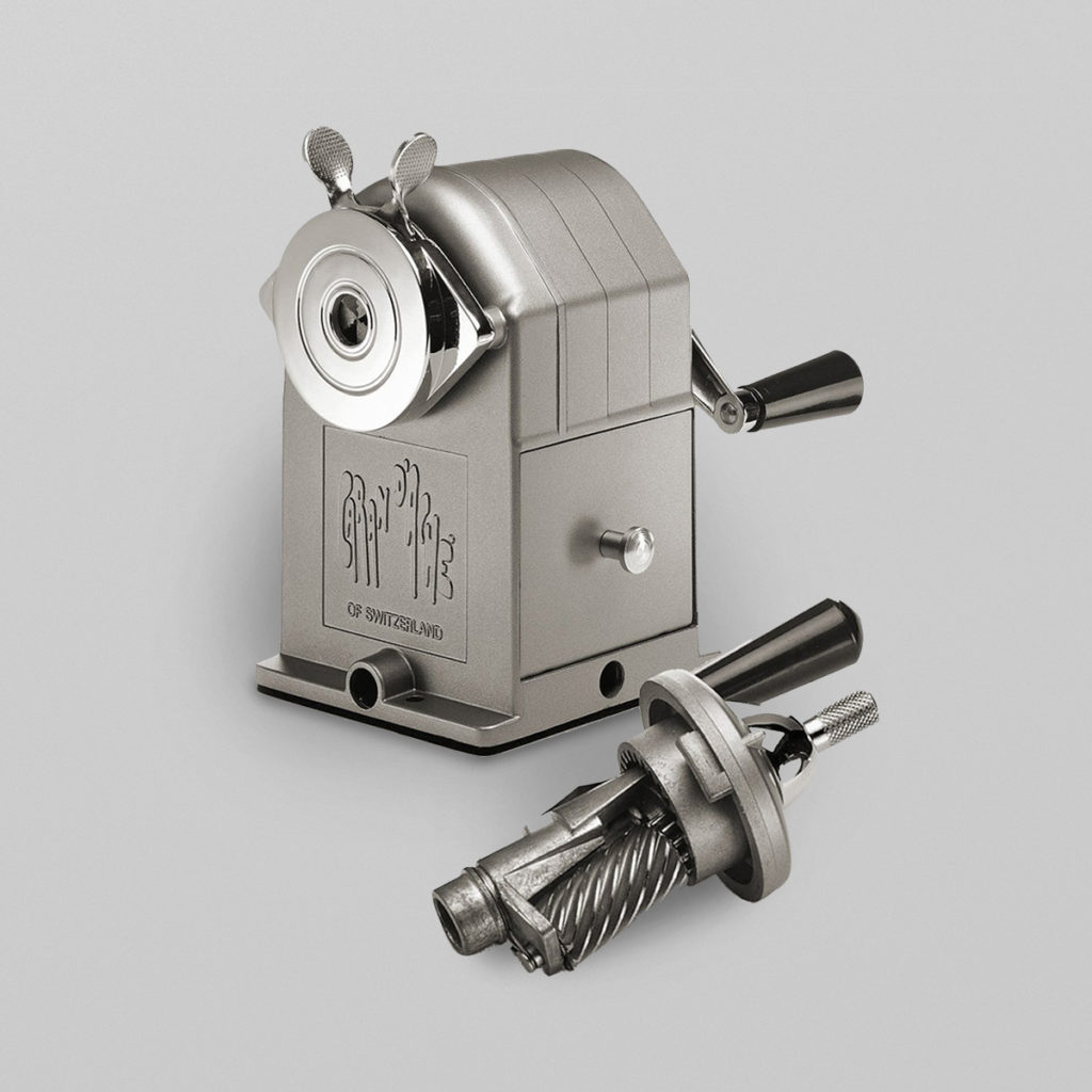 Spitzmaschine Hochwertige Ausführung aus Metall von Caran d'Ache. Qualität aus der Schweiz. Details & Bestellung