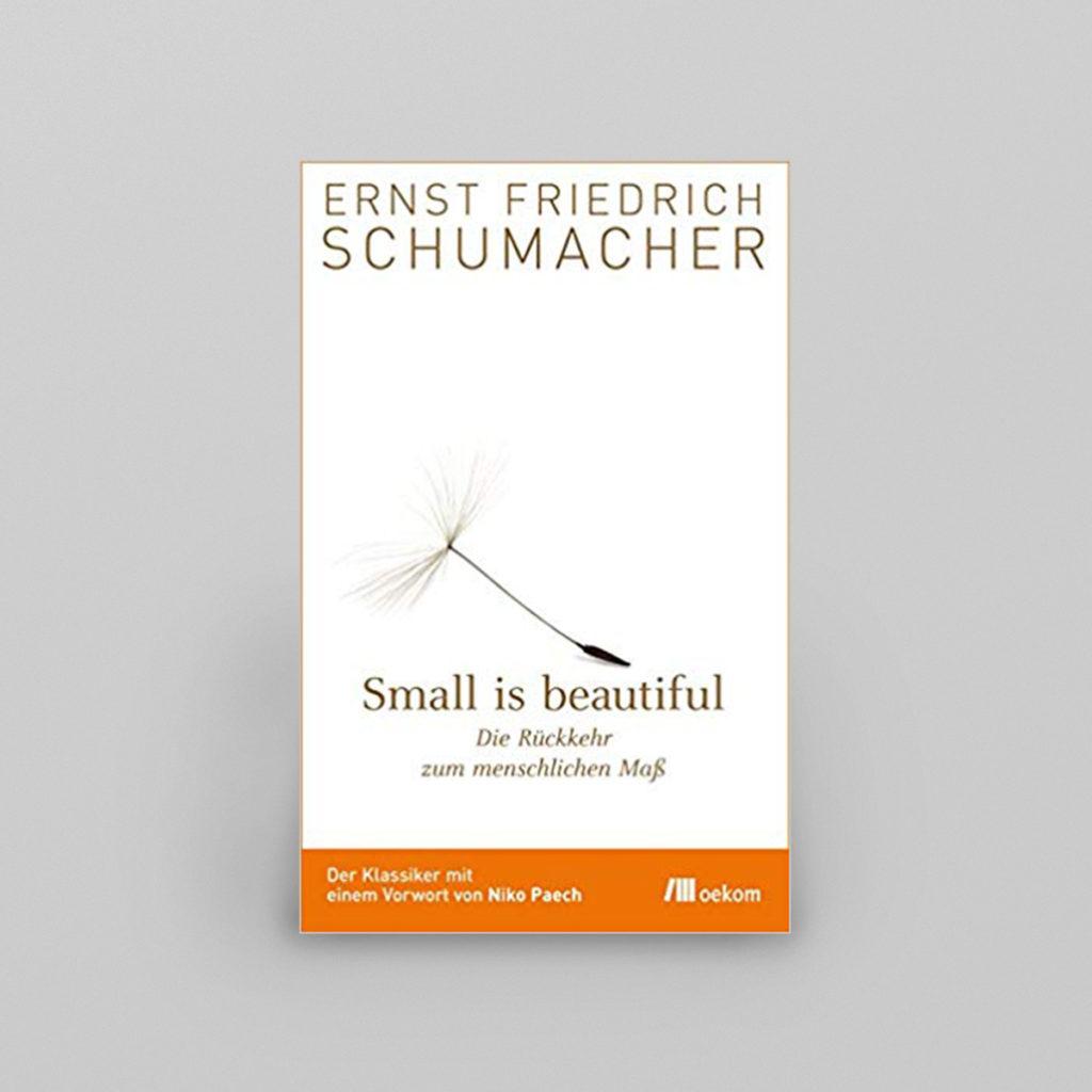 Small is beautiful - ein faszinierendes Buch, aktueller denn je! Ein Wegweiser in eine Welt, in der die Wirtschaft dem Menschen dient und nicht umgekehrt!  Details & Bestellung